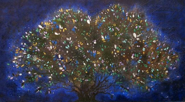 Árbol de luz - Mónica Saucedo