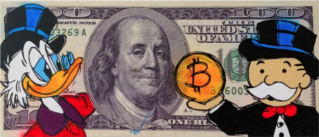 Benjamin 100 dollar bill