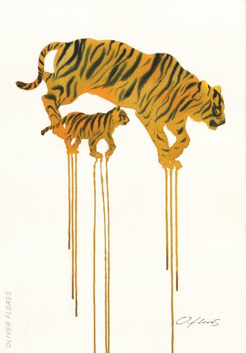 Tigre - Oliver Flores