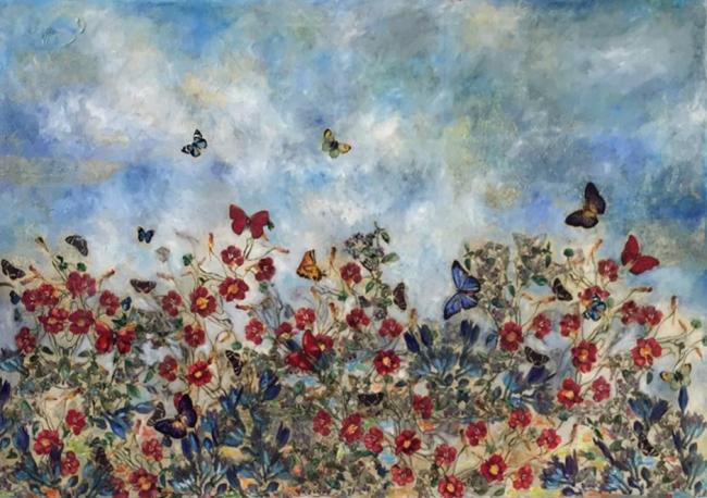 Verano y mariposas - Daniela Vargas Winiker