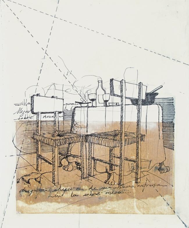 Sobre mesa - Marcela Bernal