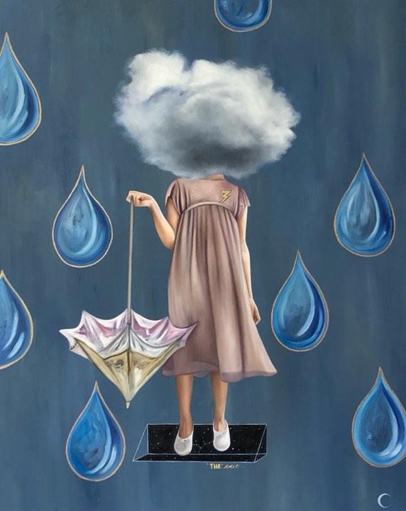 Precipitación - Claudia Huizar