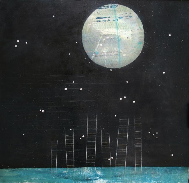 Escaleras a la luna
