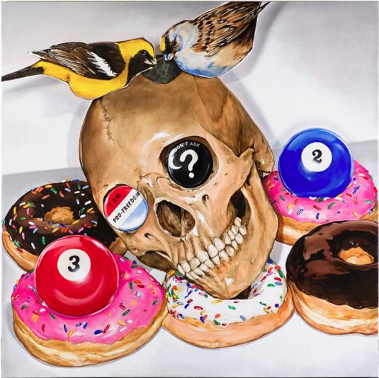 VÍCTOR RODRÍGUEZ 2 Bird donuts god complex