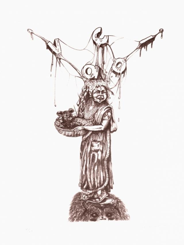 CRISTHIAN DÍAZ - Sin título 43/60 india