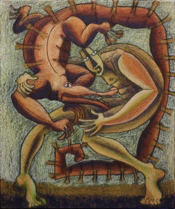 Diurno de la serie juego con lagarto - Ixrael Montes