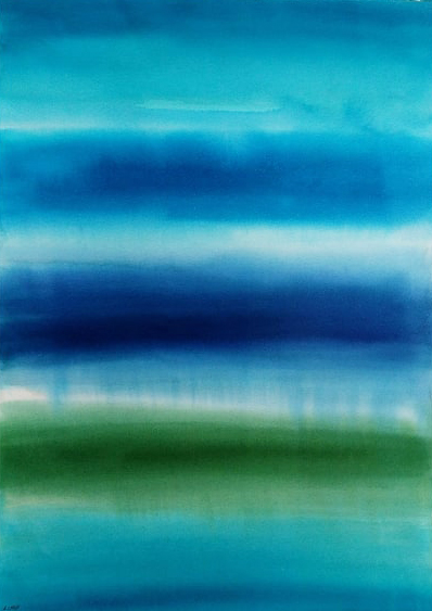 Blue thoughts - Leticia Carski