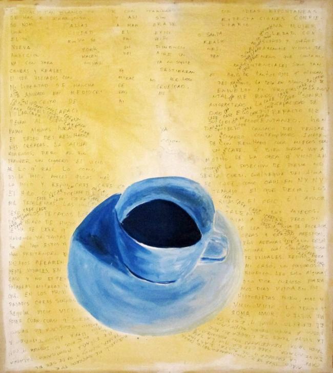 Guillermo Roel - Taza de café - Pinturas De Varios Artistas