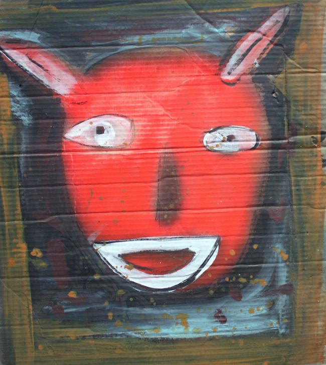 Conejo rojo - David Correa