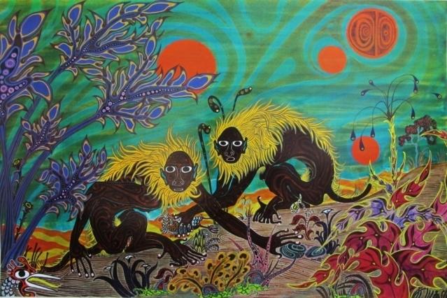Dos macacos - Jesse Allen