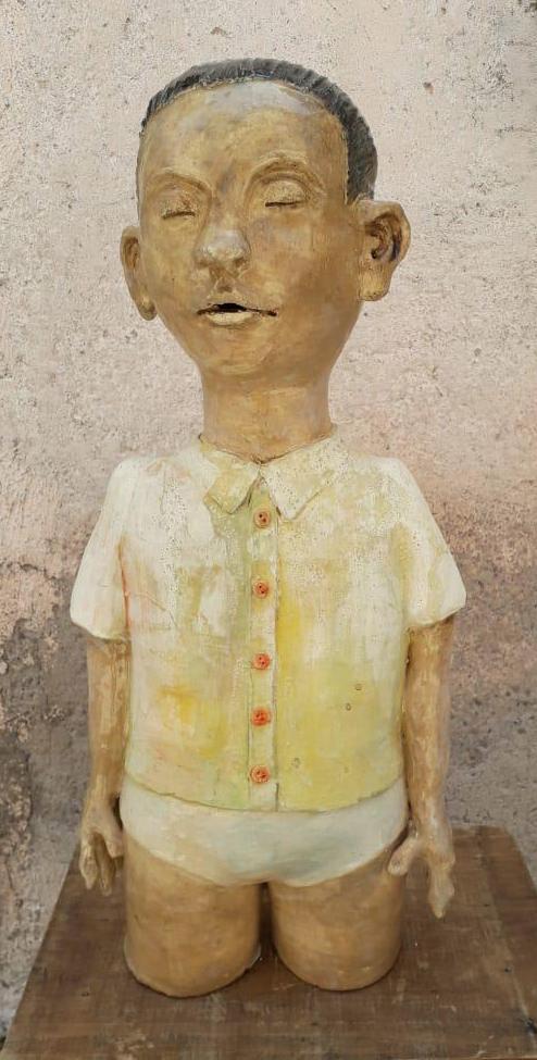 Ulises Calderón - Muchacho con camisa amarilla