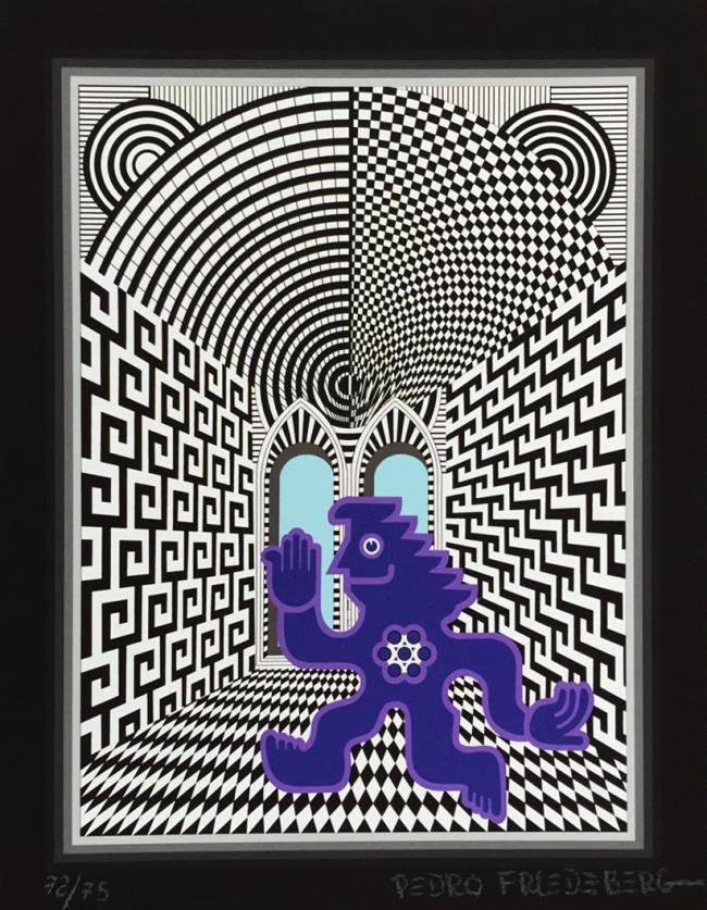 Te saluda energúmeno azul