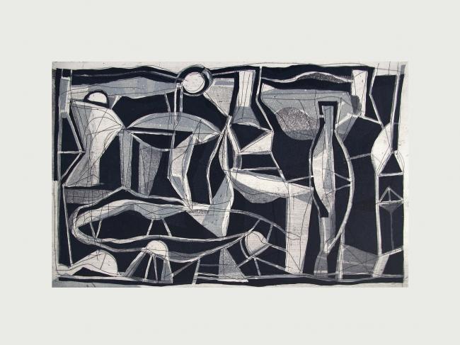 Sin Título 10 17/30 (blanco y negro) - Gabriel Macotela