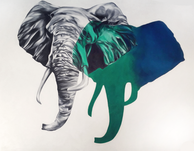 Carlina Cisneros- El elefante
