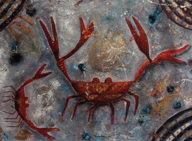 Cangrejos rojos - David Correa