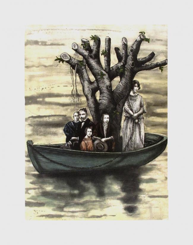 La barca III 48/60 - Carmen Bordes