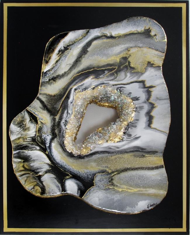Geoda 1 gris - Lucía Sáenz