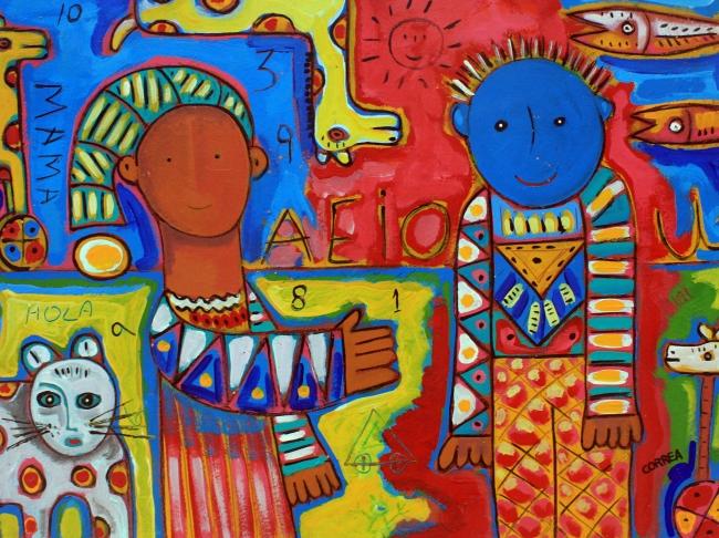 Mi amigo azul - David Correa
