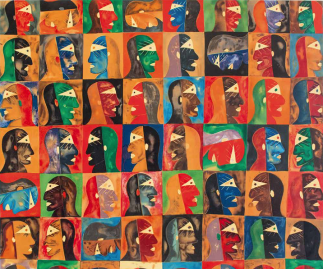 Caras y más caras - Javier Arévalo