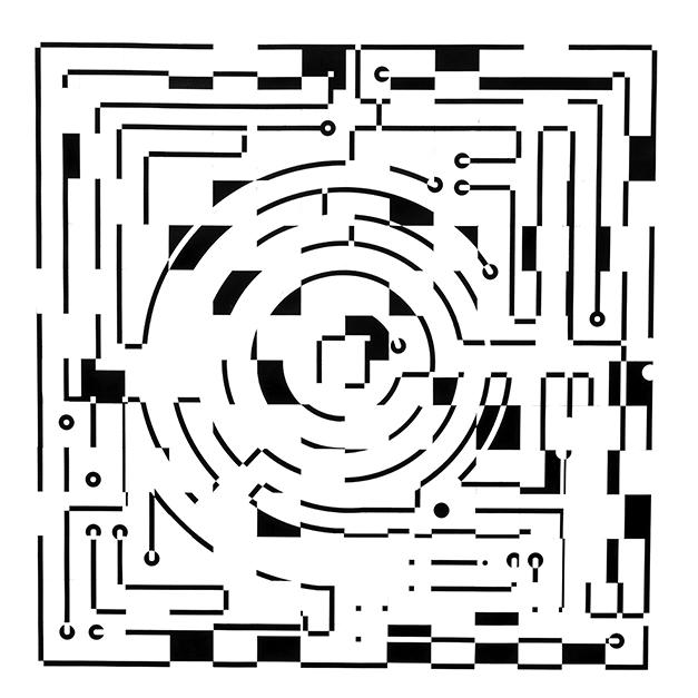 Ajedrez y circuito laberíntico - Ernesto Ríos