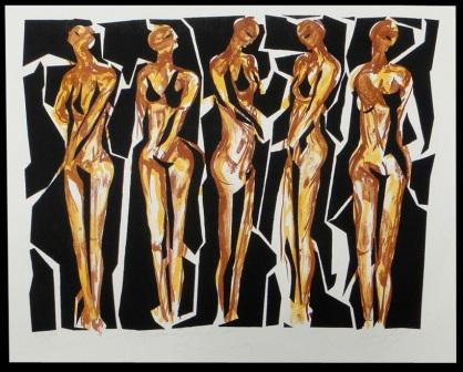 Las damas de Bambú - Santiago Rebolledo