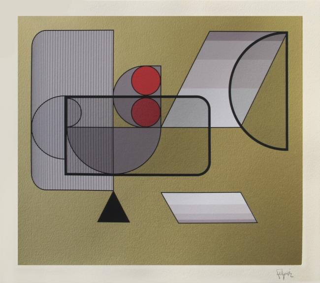 Geometría 14 - Manuel Felguerez