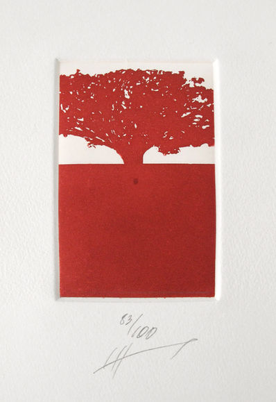 Sin Título 83/100 (árbolito rojo)