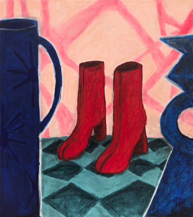 Bodegón con botas Tabi