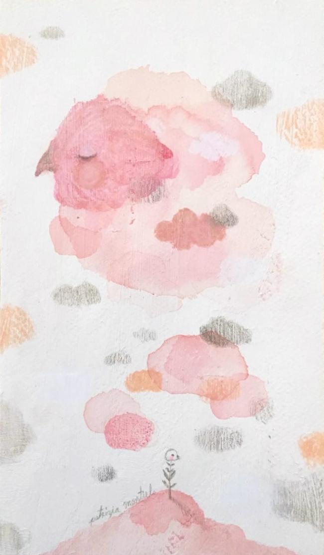 Recuerdo en rosa I