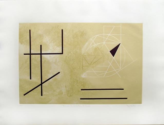 ANTONIO CASTILLO · Buscando la cuadratura al círculo  8/20 - Varios Artistas En La Gráfica