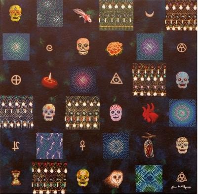 Día de muertos - Enrique Loza