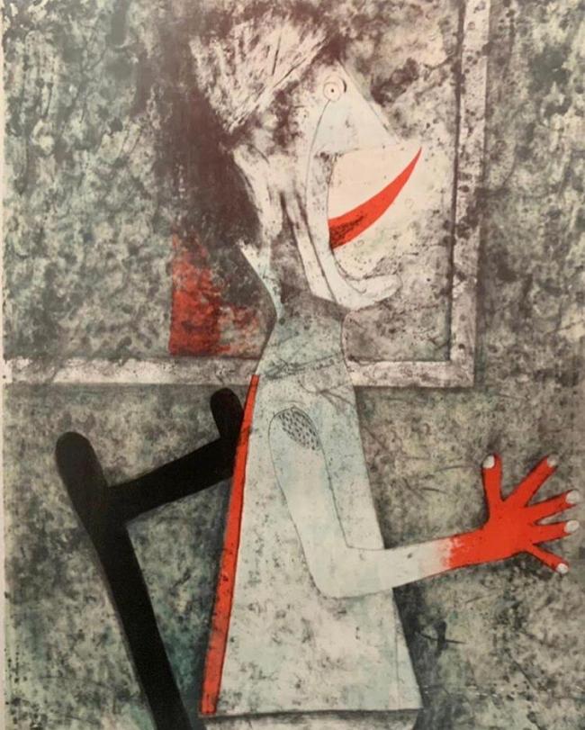 El grito - Rufino Tamayo