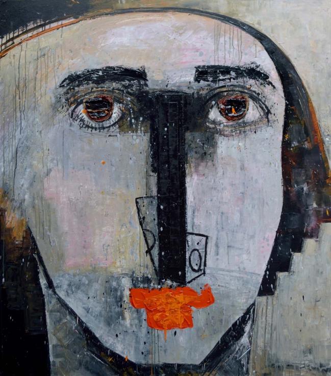 Cabeza en blanco - Vladimir Cora
