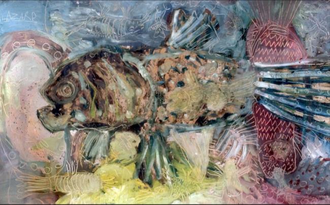 Pescado y tecolote
