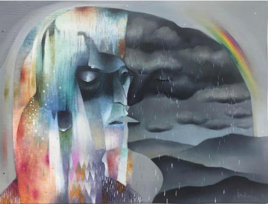 El romance entre el color y la nostalgia - Indira Castellón
