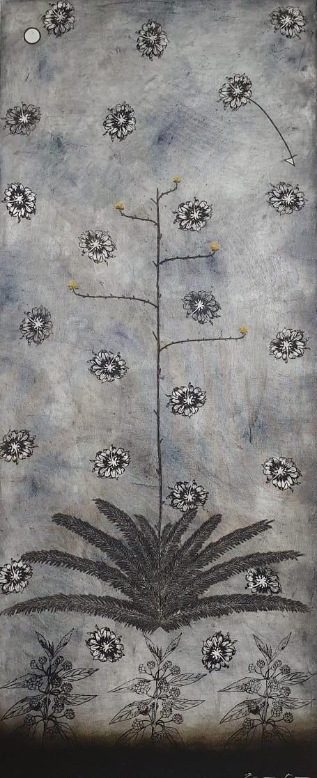 Lluvia de flores