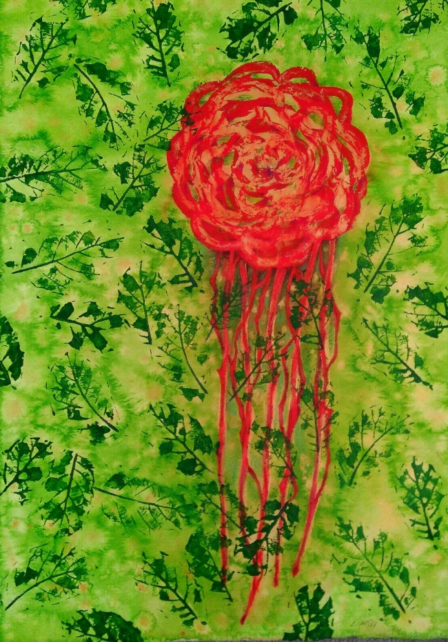 El lamento de la rosa