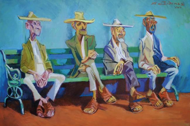Viejos del pueblo - Mauricio Cárdenas