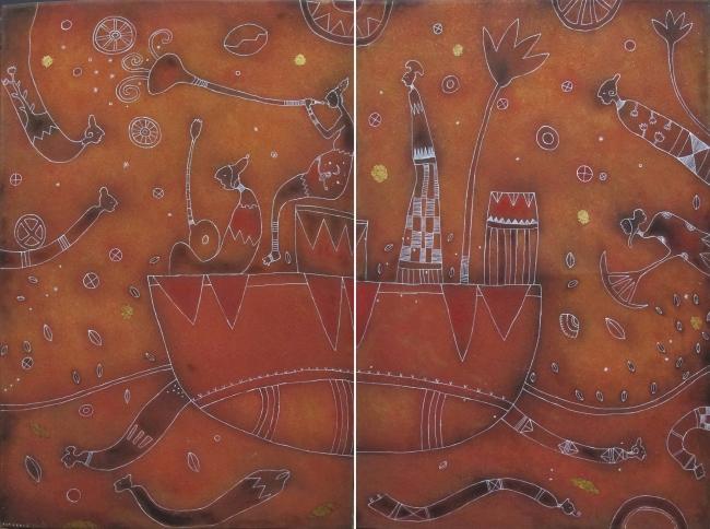 La barca dorada - David Gutiérrez