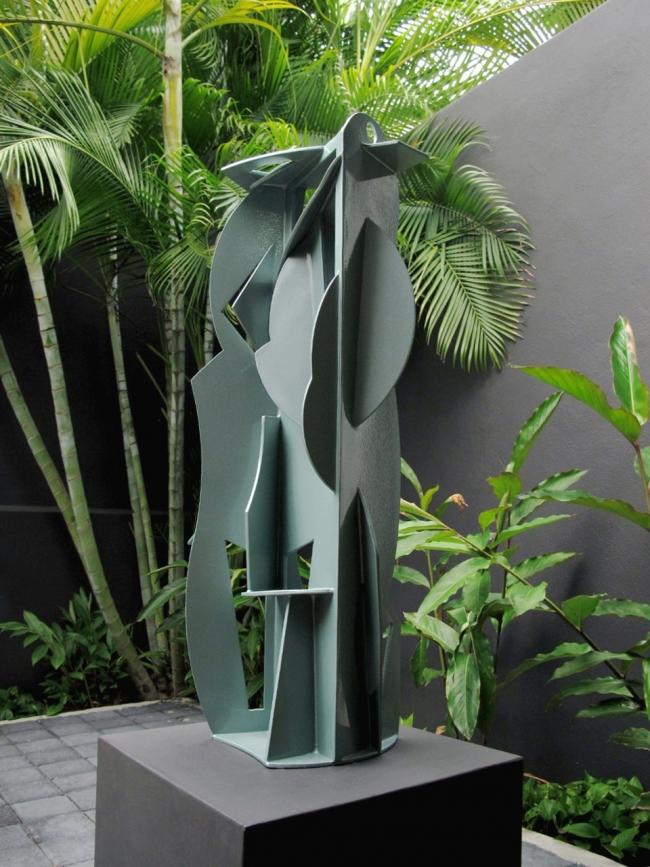 Esculturas de metal
