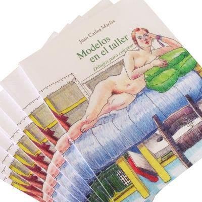 Modelos en el taller / Autor: Juan Carlos Macías