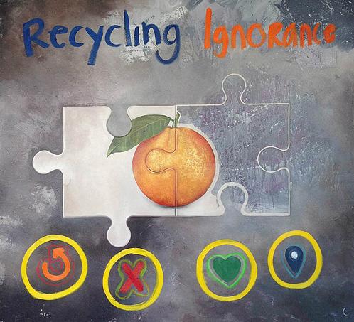 Recycling ignorance · Precio según soporte y medidas.
