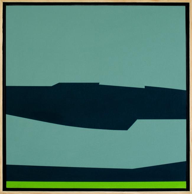 Composición azul, azul-verde - Sergio Nates
