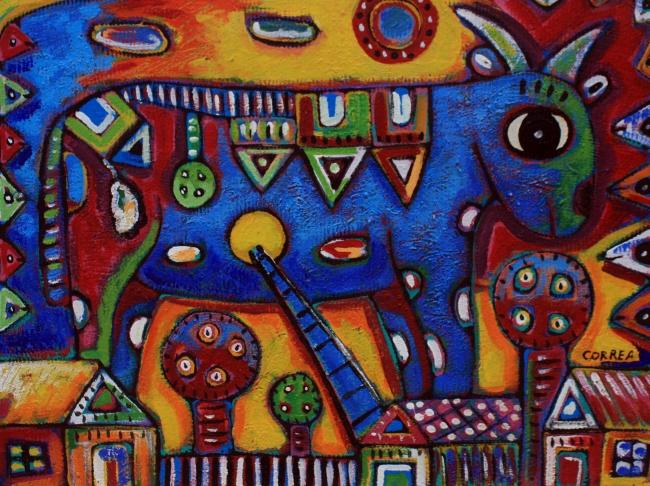 Homenaje a chagall - David Correa