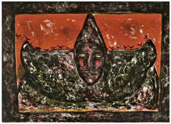 Payaso rojo - Alejandro Colunga
