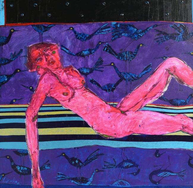 Desnudo rojo