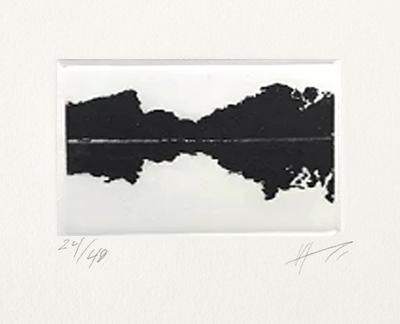 ST 22/40  paisaje en negro