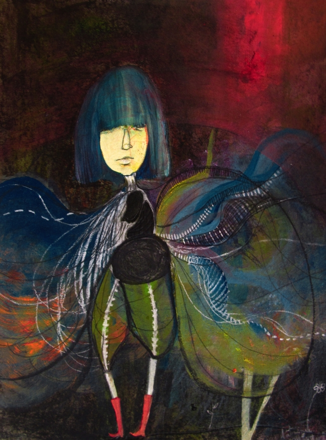 Patrizia Montiel- Ninfa de las flores