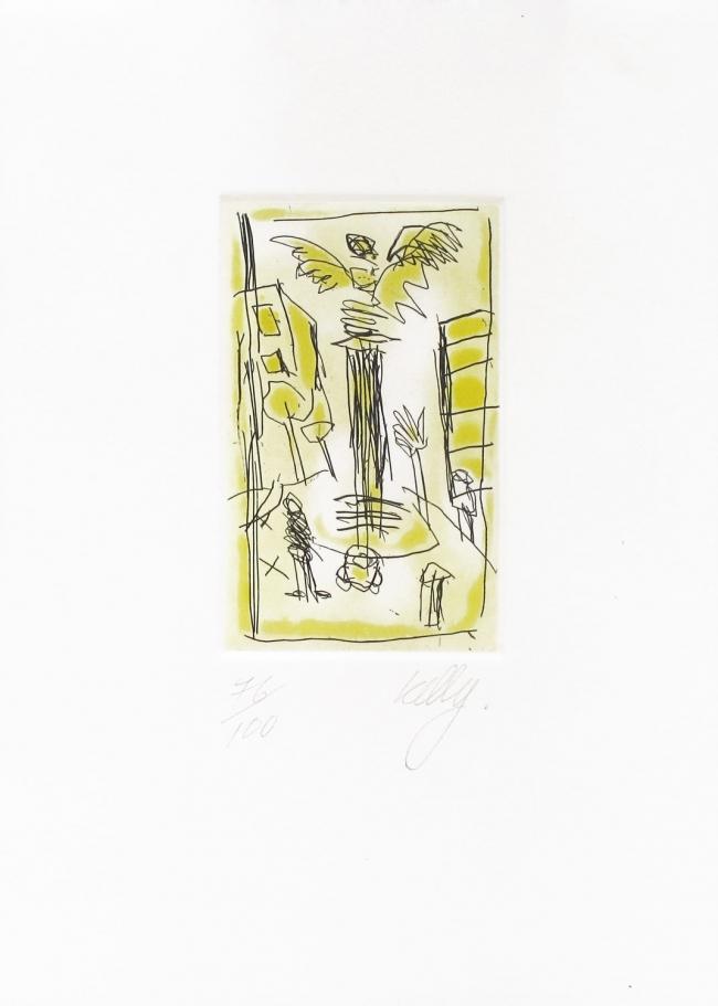 El ángel Mini gráfica 91/100 - Phil Kelly