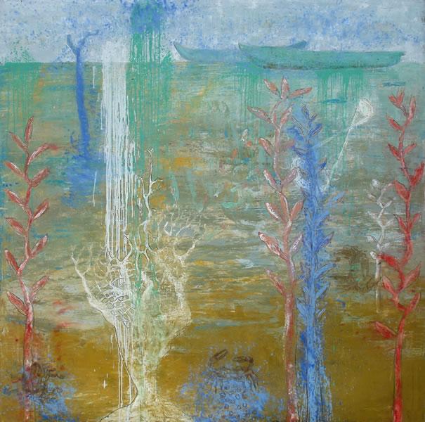 A la orilla del agua - Rosendo Pérez Pinacho